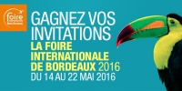 Foire Internationale de Bordeaux 2016 ! radio bassin arcachon