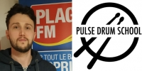 Pulse Drum School radio bassin arcachon